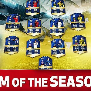 The Bundesliga Team of the Season 2016/17 - Aubameyang, Lewandowski & Co.